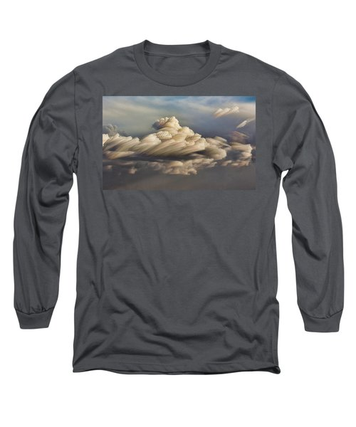 Cupcake In The Cloud Long Sleeve T-Shirt by Bill Kesler