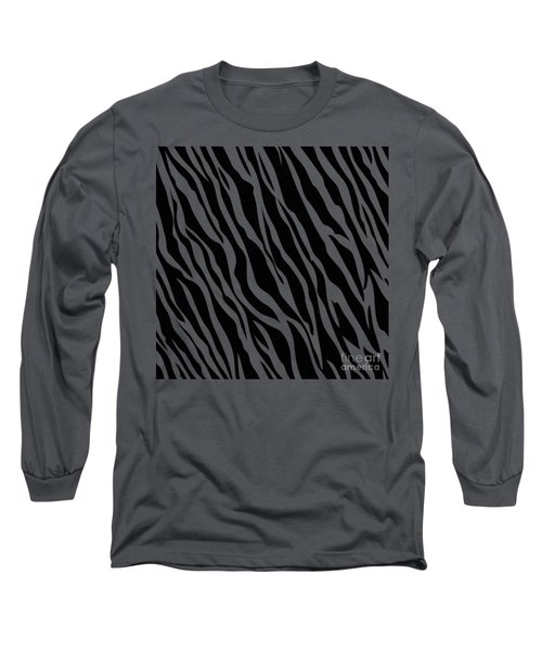 Tiger On White Long Sleeve T-Shirt