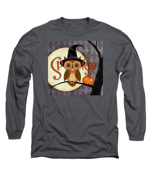 Spooky Owl Long Sleeve T-Shirt