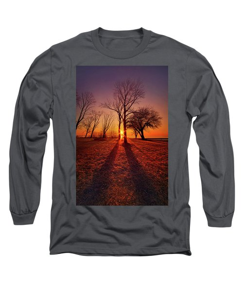 Long Sleeve T-Shirt featuring the photograph As Sure As The Sun Will Rise by Phil Koch