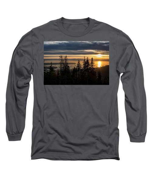 As The Sun Sets Of Vancouver Long Sleeve T-Shirt