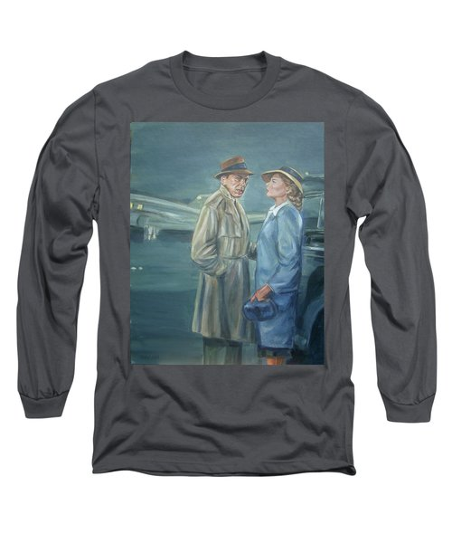 As Time Goes By Long Sleeve T-Shirt