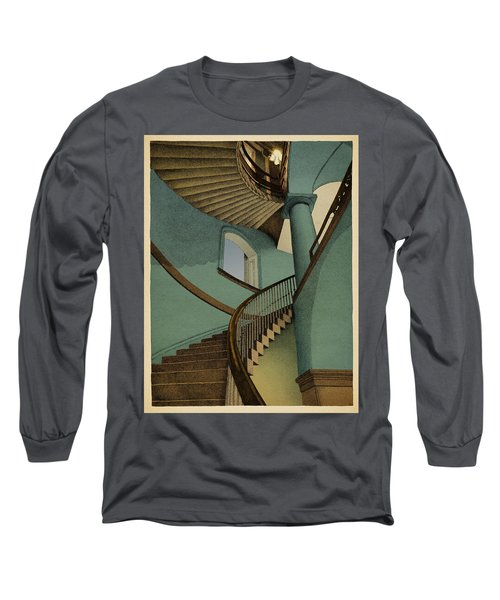 Ascending Long Sleeve T-Shirt by Meg Shearer
