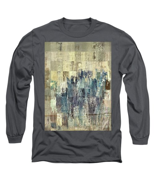 Long Sleeve T-Shirt featuring the painting Ascension - C03xt-159at2b by Variance Collections