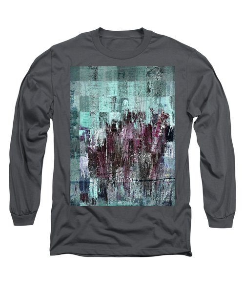 Long Sleeve T-Shirt featuring the digital art Ascension - C03xt-161at2c by Variance Collections