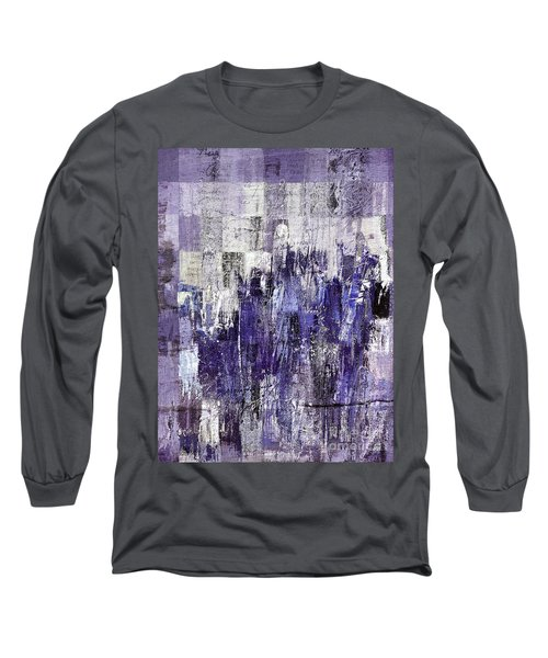 Long Sleeve T-Shirt featuring the painting Ascension - C03xt-166at2c by Variance Collections