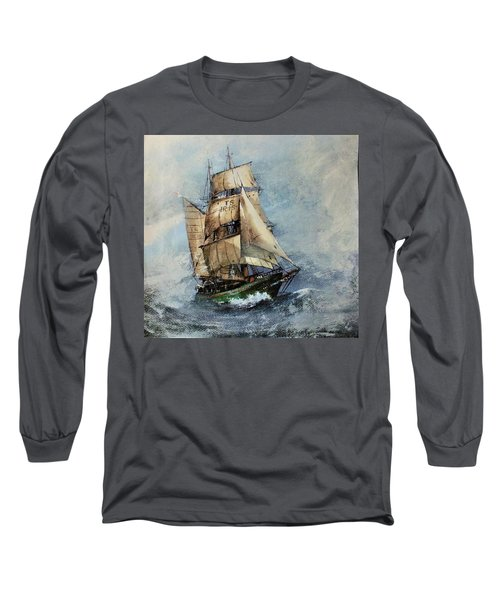 F 827 Asgard Storm Off Galway. Long Sleeve T-Shirt