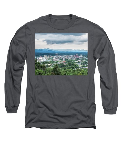 Asheville Afternoon Cropped Long Sleeve T-Shirt