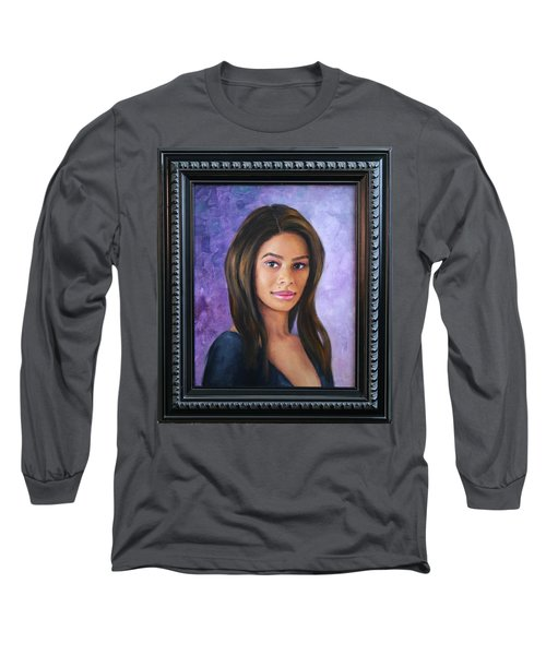 Ashly Ann Long Sleeve T-Shirt by Richard Barone