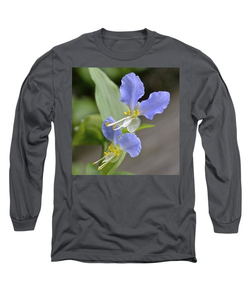 Virginia Dayflower Pair Long Sleeve T-Shirt
