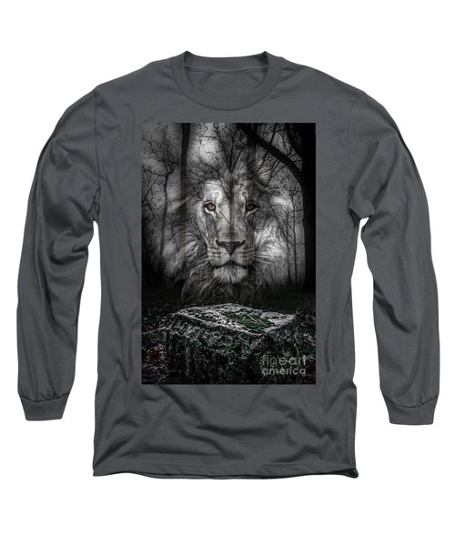 Aslan And The Stone Table Long Sleeve T-Shirt