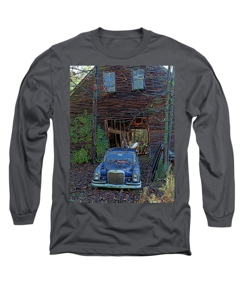Asleep At The Wheel Long Sleeve T-Shirt