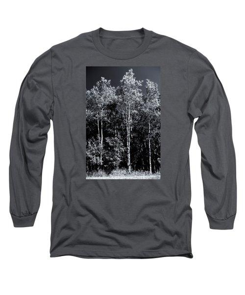 Aspen Drama Long Sleeve T-Shirt by Shelly Gunderson