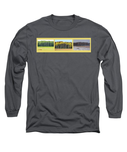 Aspen Triptych Long Sleeve T-Shirt