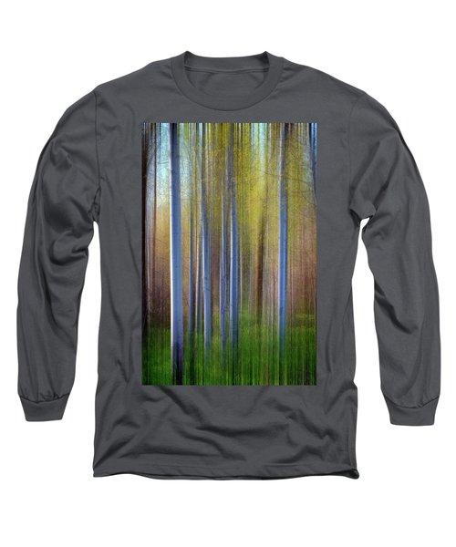 Aspens In Springtime Long Sleeve T-Shirt