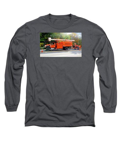Asplundh Tree Expert Company Trucks Long Sleeve T-Shirt