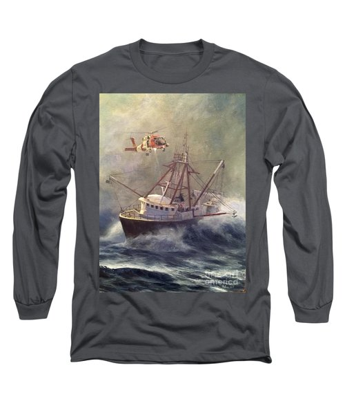 Long Sleeve T-Shirt featuring the painting Assessment by Stephen Roberson