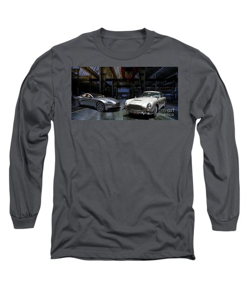Aston Martin Db5 Db11 Long Sleeve T-Shirt