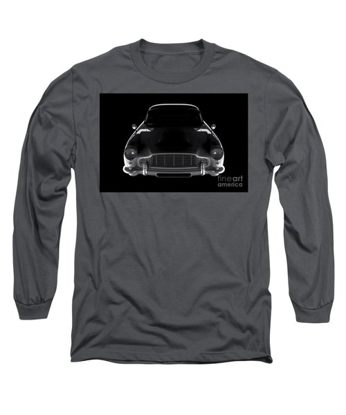 Aston Martin Db5 - Front View Long Sleeve T-Shirt