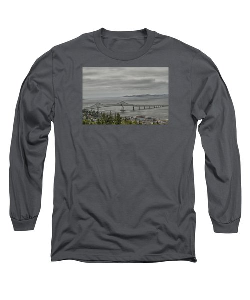 Long Sleeve T-Shirt featuring the photograph Astoria, Gateway To Oregon by Tom Kelly