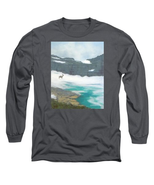 At Grinnell Glacier Long Sleeve T-Shirt