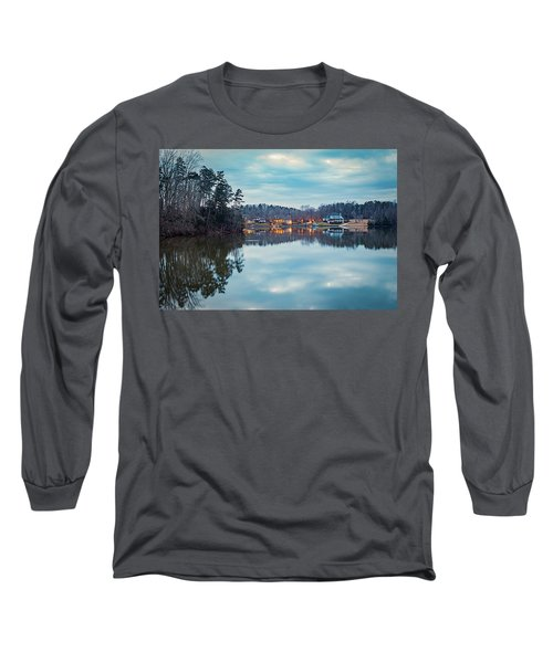 At Home On The Lake Long Sleeve T-Shirt