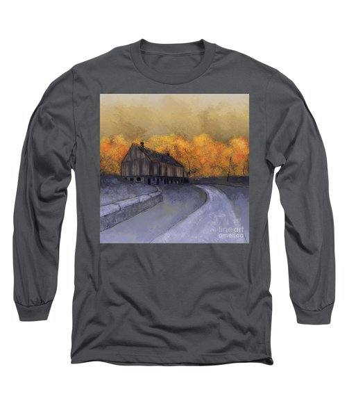 Long Sleeve T-Shirt featuring the digital art At Just Dawn by Lois Bryan