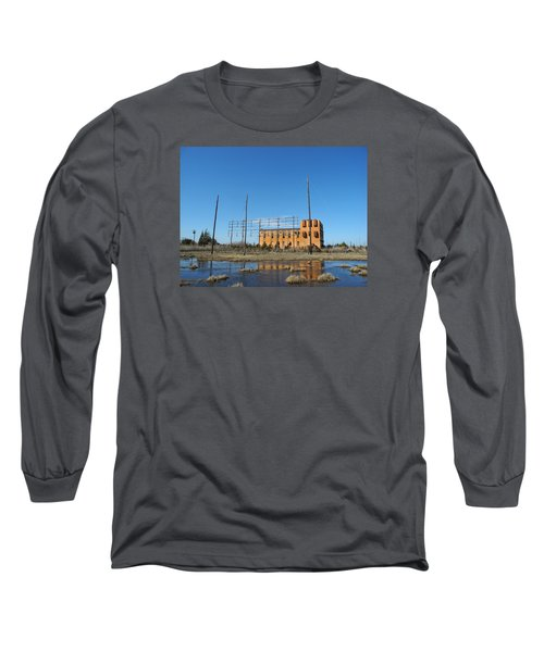 At N T Long Lines Historic Site Long Sleeve T-Shirt by Sami Martin
