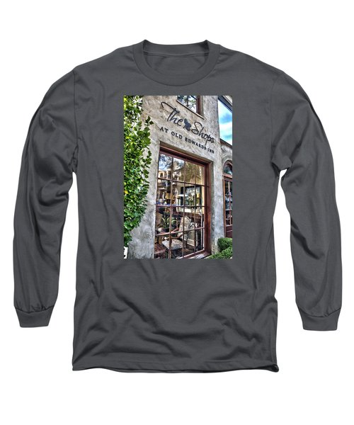 Long Sleeve T-Shirt featuring the photograph at Old Edwards Inn by Allen Carroll