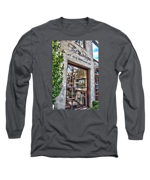 at Old Edwards Inn Long Sleeve T-Shirt by Allen Carroll