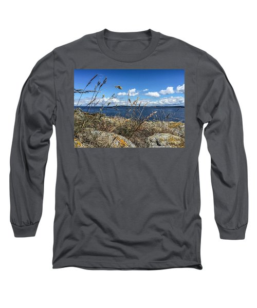 Long Sleeve T-Shirt featuring the photograph At Point Lawrence by William Wyckoff
