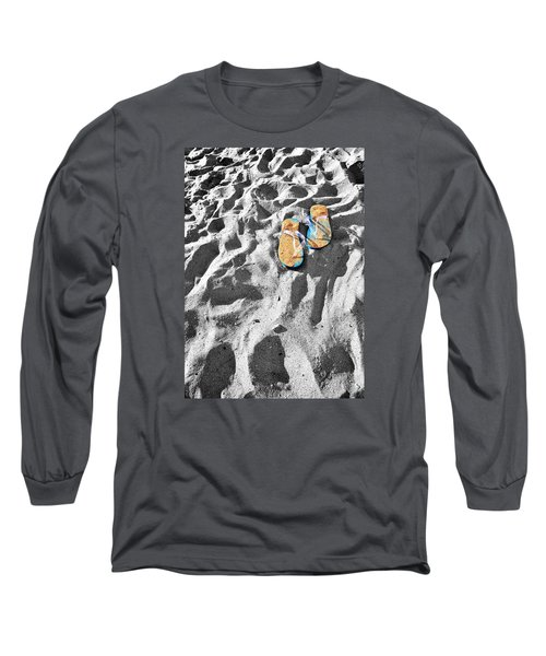Long Sleeve T-Shirt featuring the photograph At Sea by Marwan Khoury