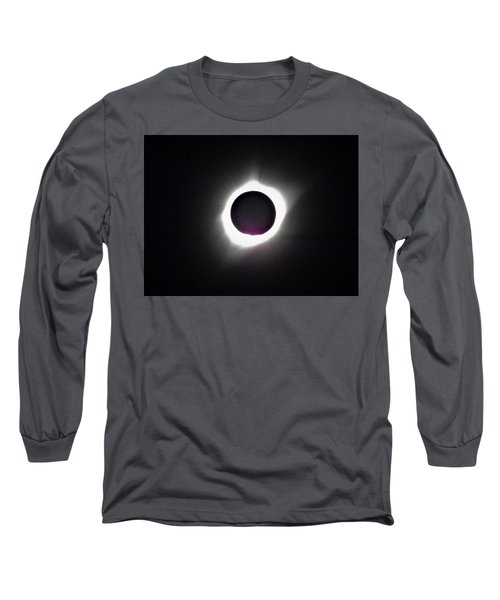 At The Moment Of Totality Long Sleeve T-Shirt