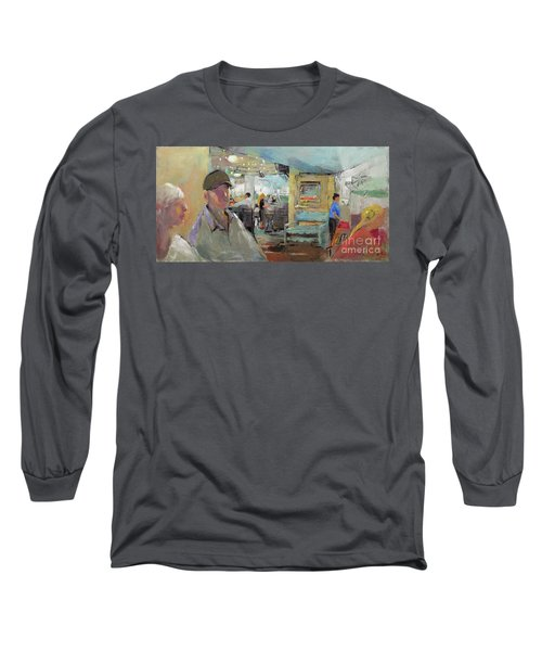 At The Restaurant Long Sleeve T-Shirt