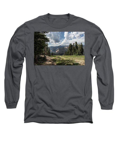 At The Top Of The Run Long Sleeve T-Shirt