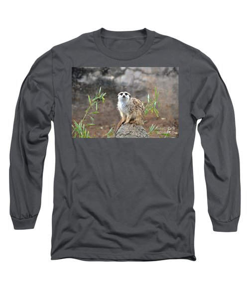 Long Sleeve T-Shirt featuring the photograph At The Watch by John Black