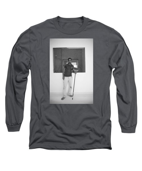 Long Sleeve T-Shirt featuring the photograph At Your Command by Jez C Self