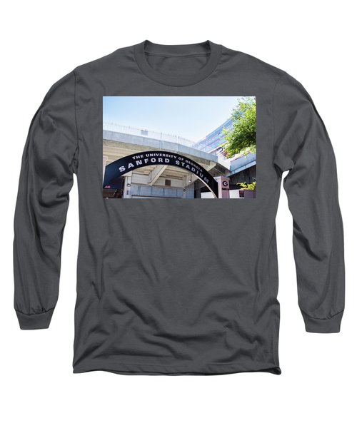 Long Sleeve T-Shirt featuring the photograph Athen's Ritual by Parker Cunningham