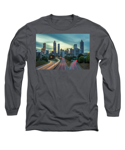 Atlanta Long Sleeve T-Shirt by RC Pics