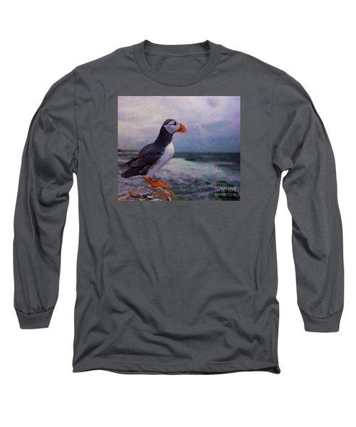 Atlantic Puffin Long Sleeve T-Shirt