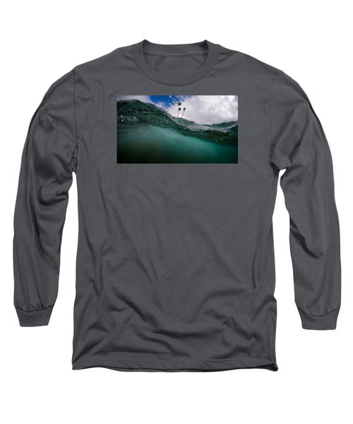 Atmospheric Pressure Long Sleeve T-Shirt by Sean Foster