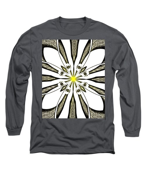 Atomic Lotus No. 3 Long Sleeve T-Shirt