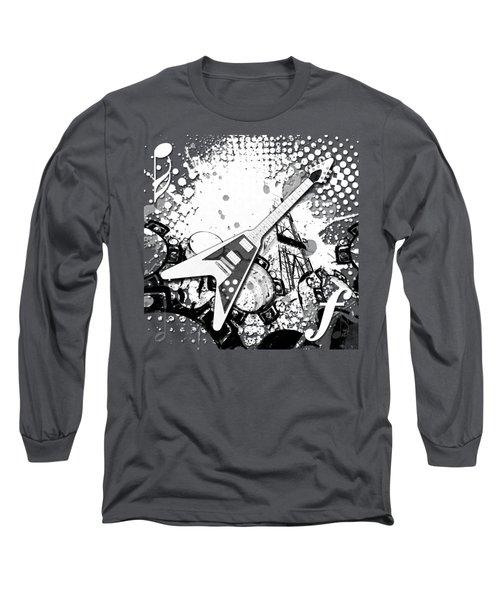 Audio Graphics 3 Long Sleeve T-Shirt