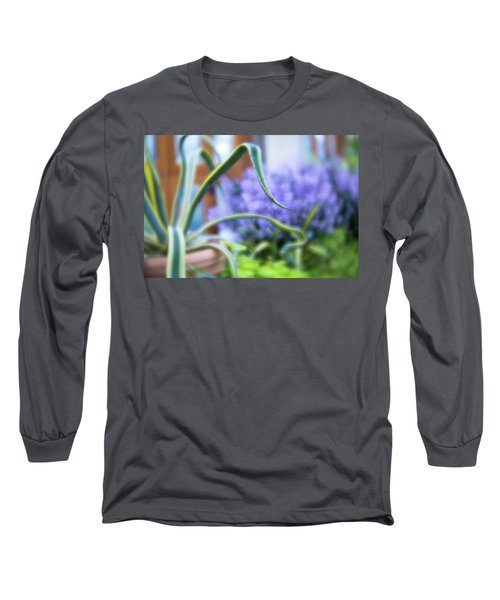 Long Sleeve T-Shirt featuring the photograph Audrey IIi by Brian Hale