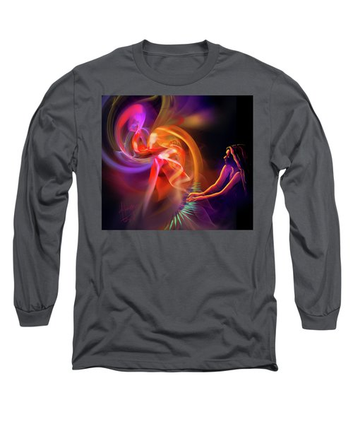 August Moon Long Sleeve T-Shirt by DC Langer