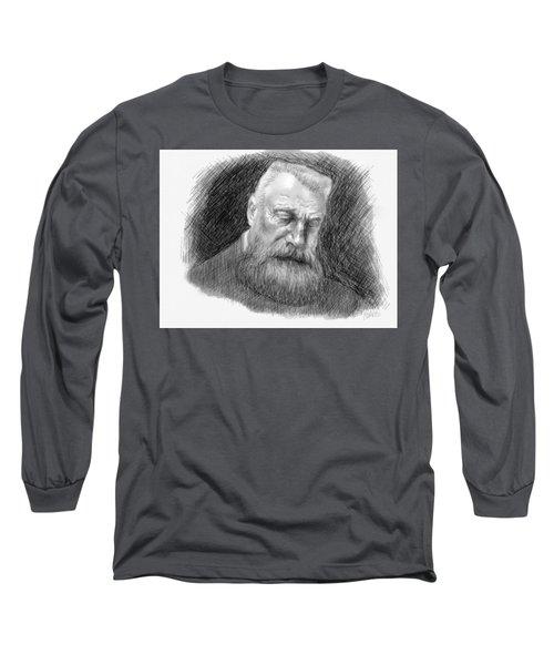 Auguste Rodin Long Sleeve T-Shirt by Antonio Romero