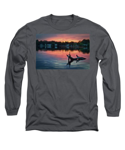 August Sunset Glow Long Sleeve T-Shirt