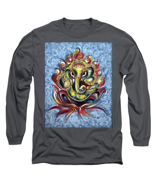 Aum Ganesha Long Sleeve T-Shirt