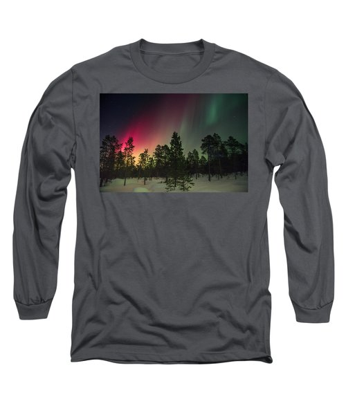 Aurora Borealis Long Sleeve T-Shirt