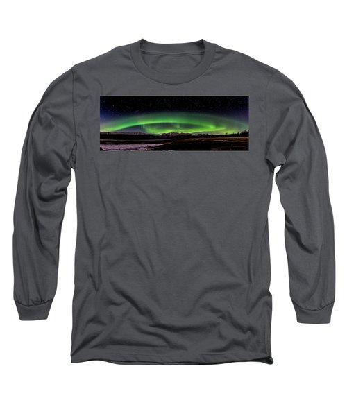 Aurora Spiral Long Sleeve T-Shirt